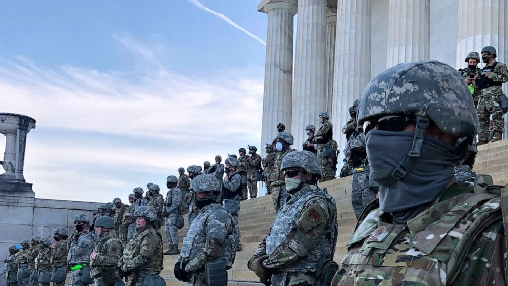 esercito al congresso black lives matter