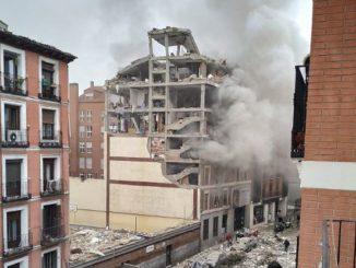 esplosione centro madrid