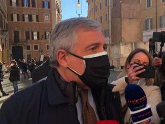 Governo, Tajani: non sostenere Conte non c'entra con l'europeismo
