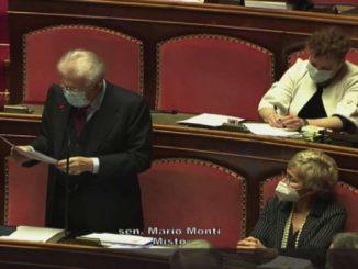 Governo, Monti: sì a fiducia, mio voto libero. Guarderò i fatti