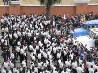 Bloccata in Guatemala la carovana di migranti diretti negli Usa