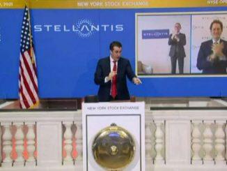 Stellantis vola al debutto anche a Wall Street, apre oltre +11%