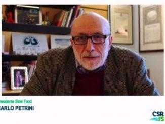 Petrini: serve una nuova visione economica per superare le crisi