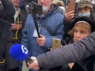 Navalny, ecco le immagini dell'arresto lampo di Liubov Sobol