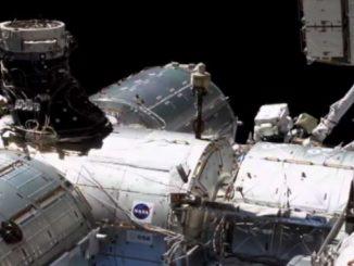 """Una passeggiata spaziale per """"Colka"""", la banda larga per l'ISS"""