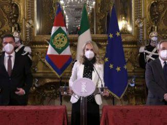 Consultazioni, Autonomie: al Colle abbiamo fatto il nome di Conte