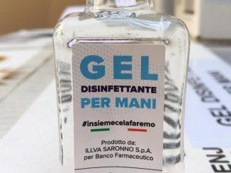 gel disinfettante mani
