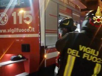 Incendio appartamento Rovereto
