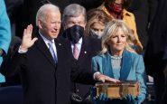 """Joe Biden ha giurato come 46esimo presidente: """"La democrazia ha prevalso"""""""