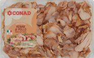 Kebab di pollo Conad ritirato dal mercato