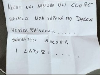 La lettera dei ladri