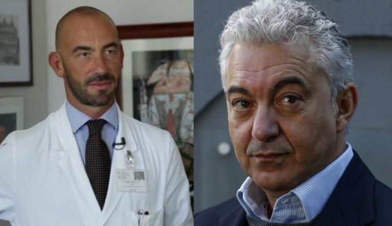 Matteo Bassetti e Domenico Arcuri