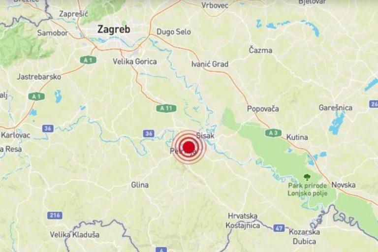 Nuova scossa di terremoto in Croazia