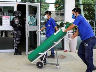 Ospedali senza ossigeno Brasile