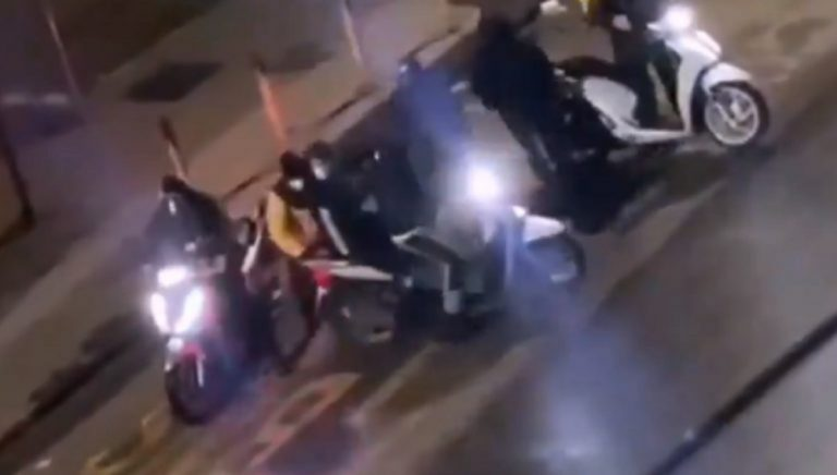 rider aggredito