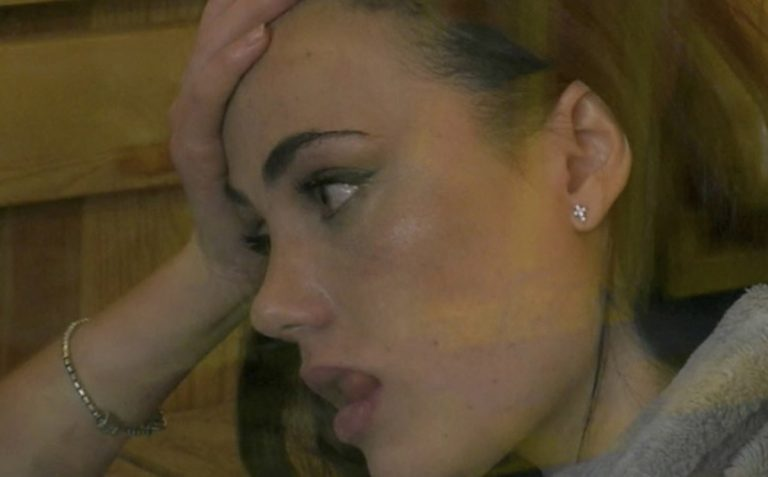 Rosalinda Cannavo lacrime