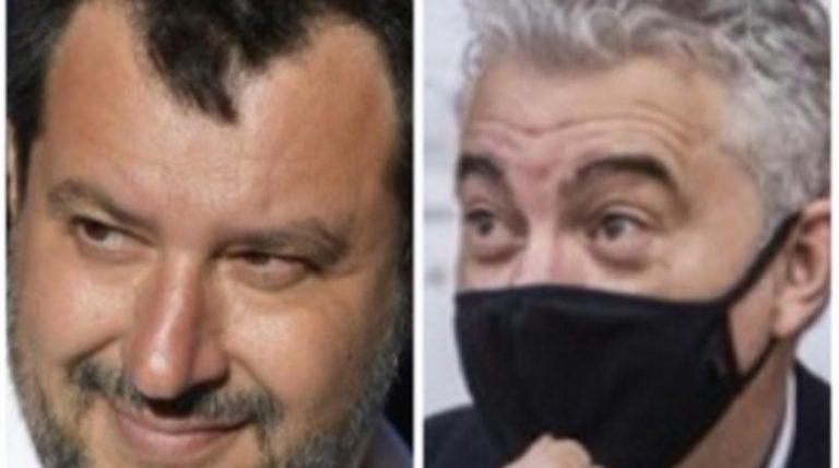 Salvini dimissioni Arcuri