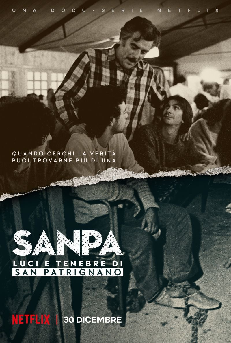 SanPa Netflix locandina