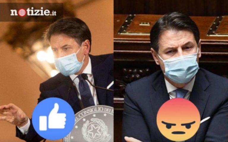 Sondaggio notizie.it Conte