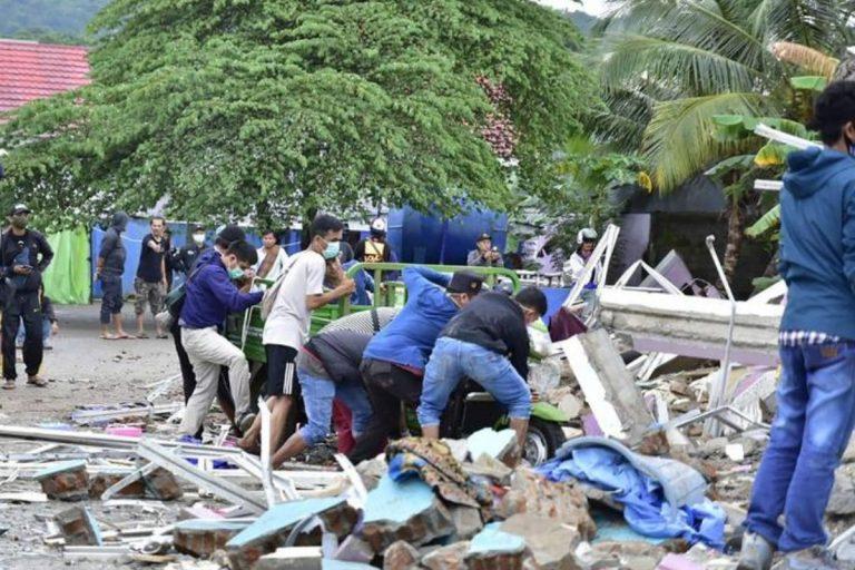 Terremoto Indonesia numero morti