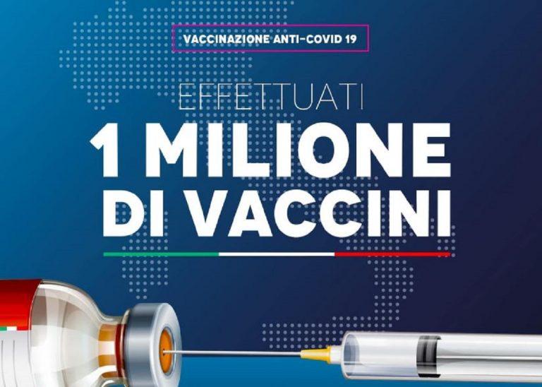 un milione di vaccini