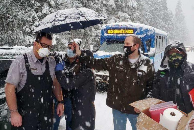 usa tempesta neve vaccini