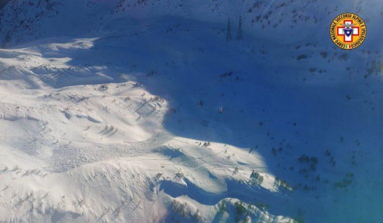 valanga Mortirolo ucciso alpinista