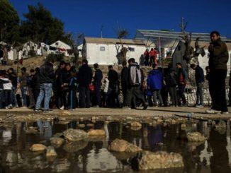 bimbo morto intossicato in un campo migranti di tebe
