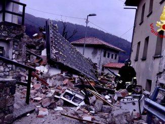 Casa crolla a Savogna