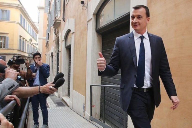 Casalino Renzi Draghi