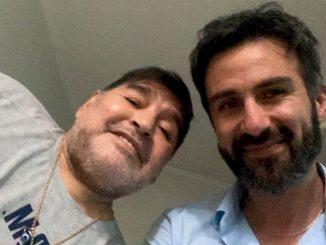 Diego Armando Maradona e Luque