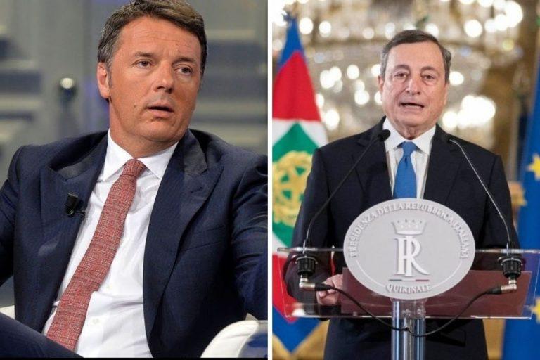 Draghi delega servizi Renzi