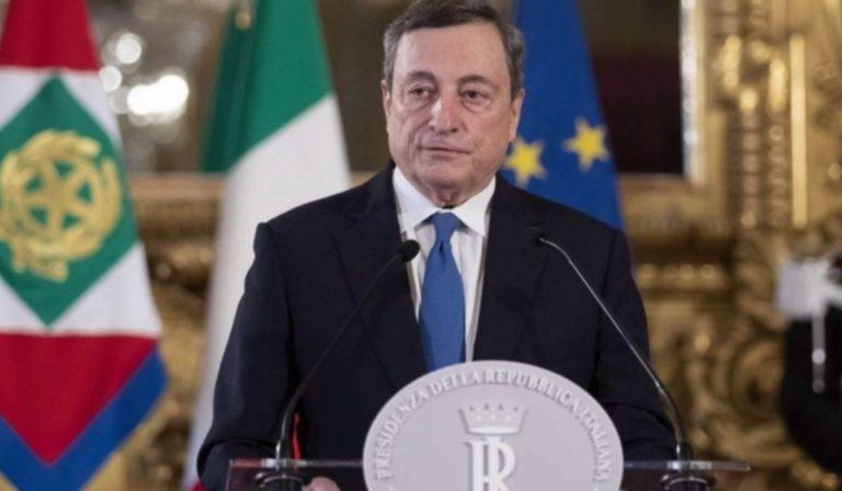 Draghi reazioni partiti