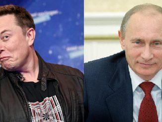Elon Musk e Vladimir Putin