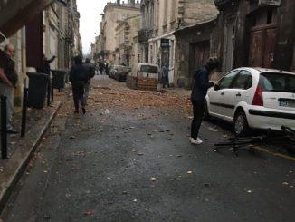 esplosione centro di Bordeaux