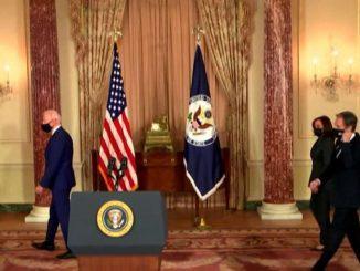 """Biden: """"L'America è tornata, la diplomazia è tornata!"""""""