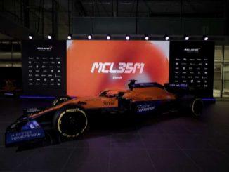 McLaren presenta la nuova monoposto di F1 motorizzata Mercedes