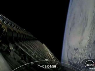 Spazio, SpaceX manda in orbita 60 nuovi satelliti Starlink