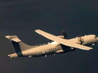 Leonardo consegna il quarto aereo P-72A all'Aeronautica Militare