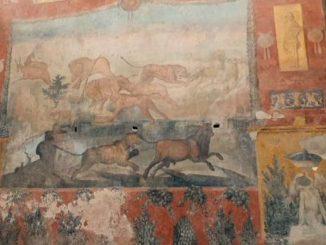 A Pompei restaurato l'affresco del giardino della Casa dei Ceii