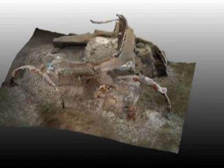 Straordinario ritrovamento vicino Pompei: un carro per cerimonie