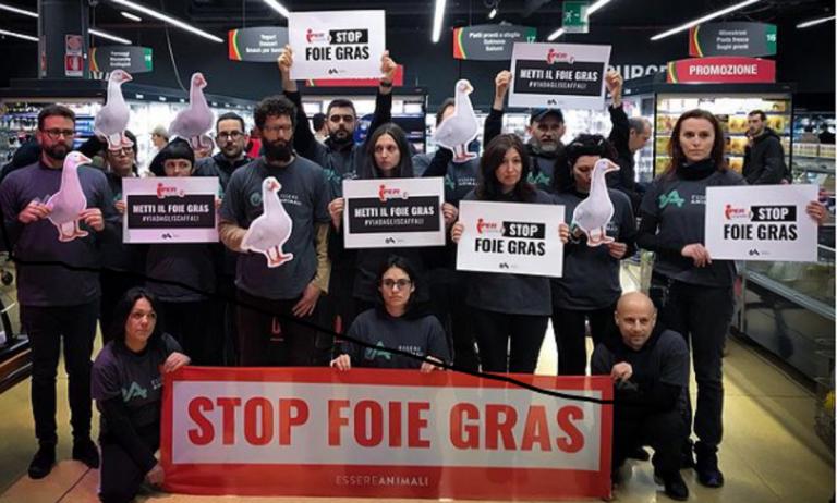 Foie Gras, stop alla vendita in tutti i supermercati italiani