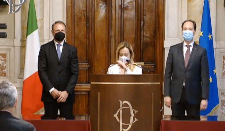 Giorgia Meloni Draghi