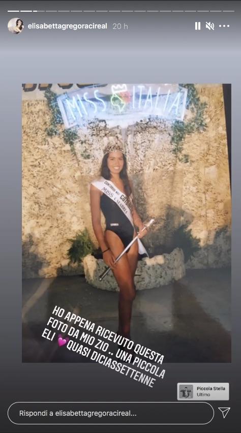 Gregoraci Miss Italia