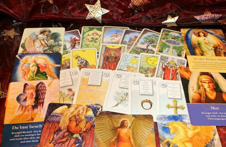 lettura delle carte degli angeli