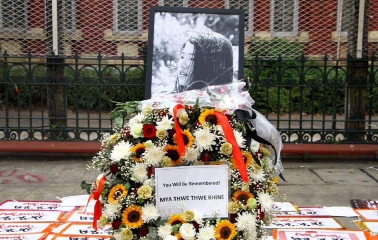morta la giovane manifestante colpita in birmania