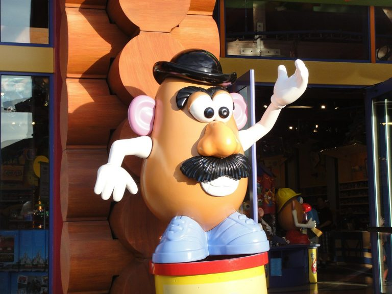 Mr. Potato sarà solo Potato