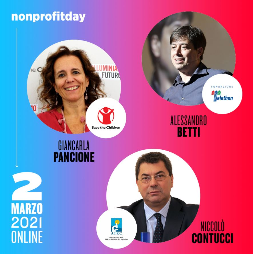 nonprofit day 2021 ospiti