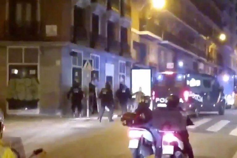 proteste a Madrid Pablo Hasél