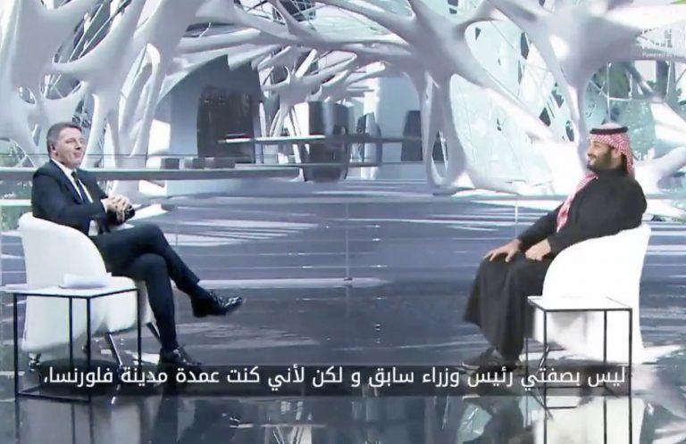 renzi arabia saudita culla del nuovo rinascimento